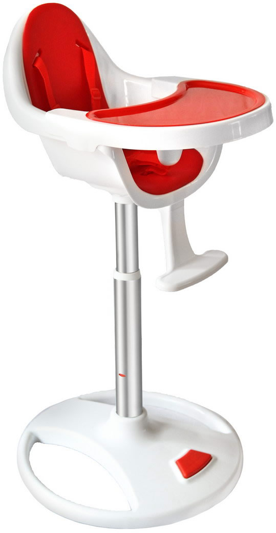 Swivel 360° Highchair - Red-185