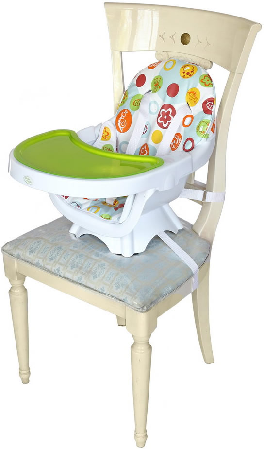 Deluxe 3 In 1 Highchair - Green-181